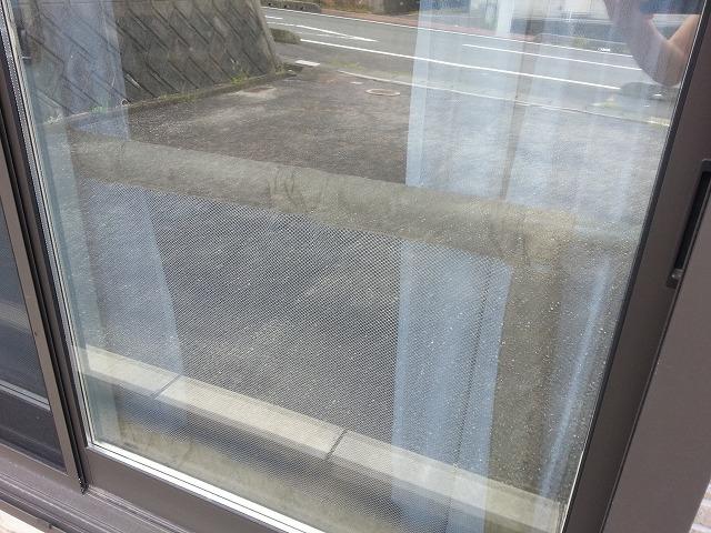 リビングの掃き出し窓の画像